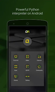 QPython Aplikasi Android Untuk Ngoding