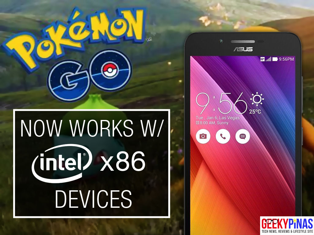 Pokemon GO APK installer for Intel x86 smartphones and devices