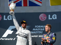 F1 - Lewis Hamilton Wins Hungarian GP 2013