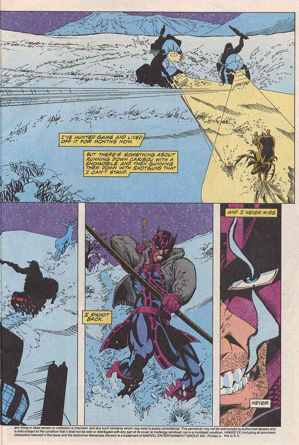 Hawkeye (1994) Issue #1 #1 - English 4