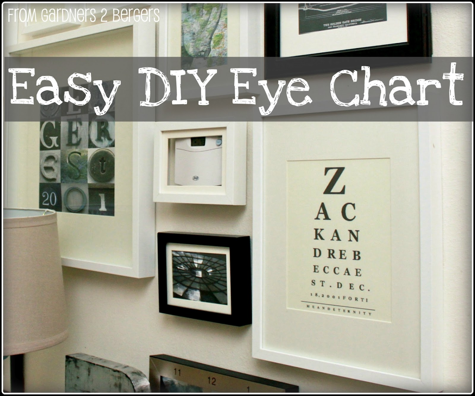 From gardners 2 bergers art easy diy eye chart art nvjuhfo Image collections
