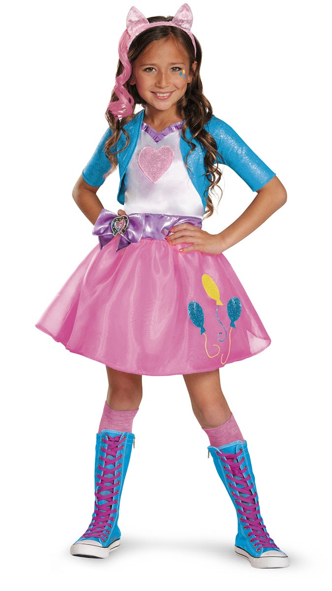 MLP Equestria Girls Pinkie Pie Halloween Costume  sc 1 st  MLP Merch & Equestria Girls Halloween Costumes at Kmart | MLP Merch