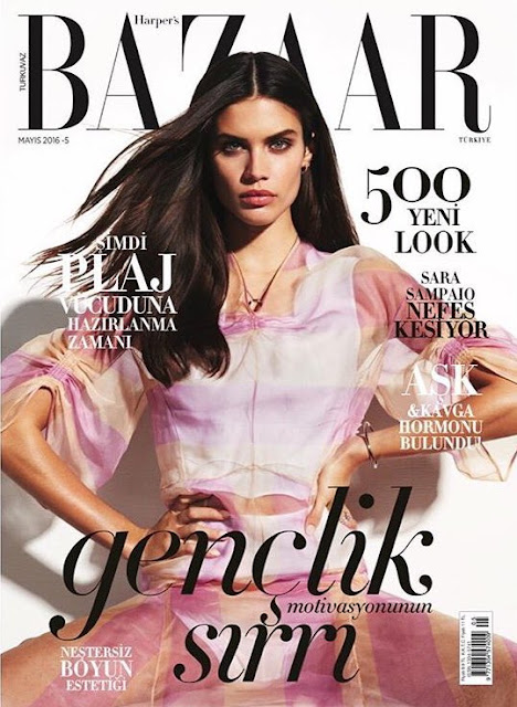 Supermodel, @ Sara Sampaio - Harpe'rs Bazaar Turkey May, 2016