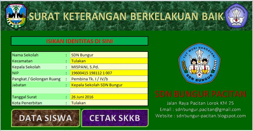Download Aplikasi Cetak Skkb Sd Smp Sma Dan Sederajat