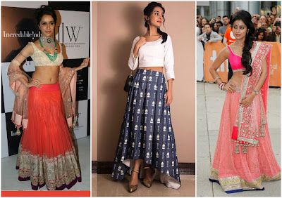 How to style Lehengas for Short Girls, fashion tips for short girls, indian wear tips for short girls, how to style indian wear for short girls