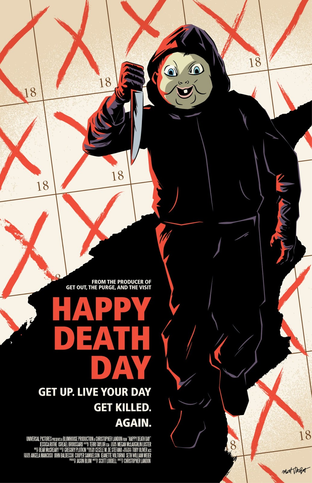 Narrative drive happy death day by scott lobdell happy death day by scott lobdell stopboris Choice Image