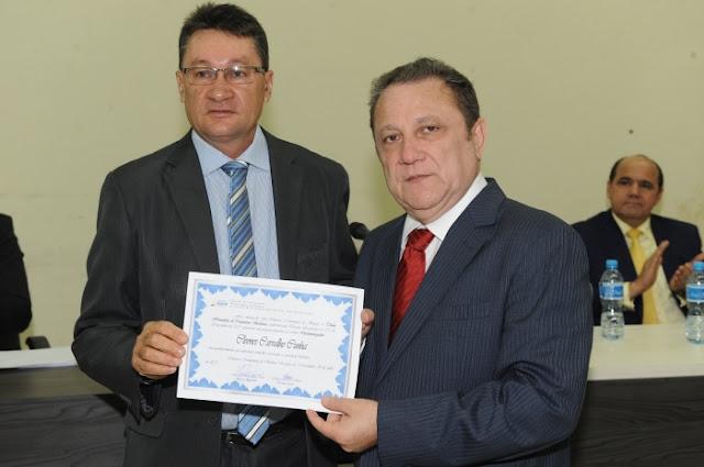 Poder Legislativo de Balsas concede título de cidadão ao desembargador Cleones Cunha