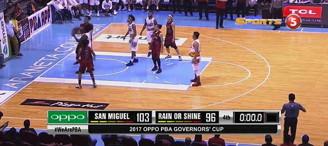 San Miguel def. Rain or Shine, 103-96 (REPLAY VIDEO) September 6