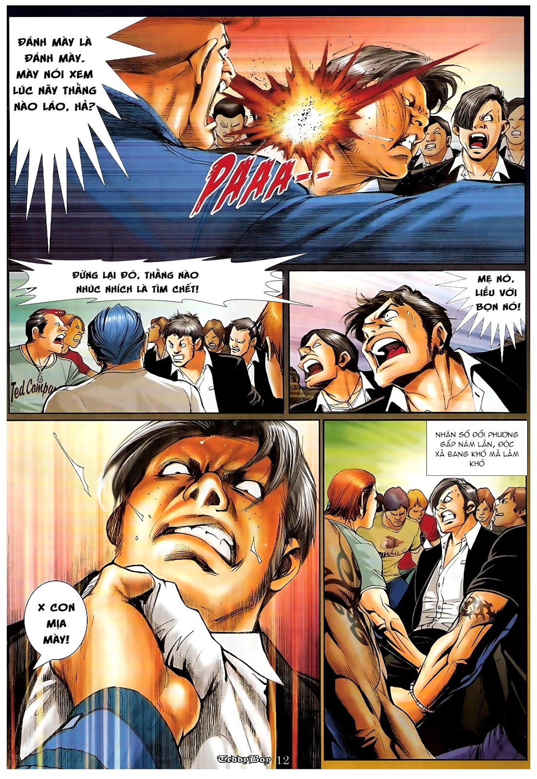 Người Trong Giang Hồ - Chapter 1189: Bố già - Pic 10