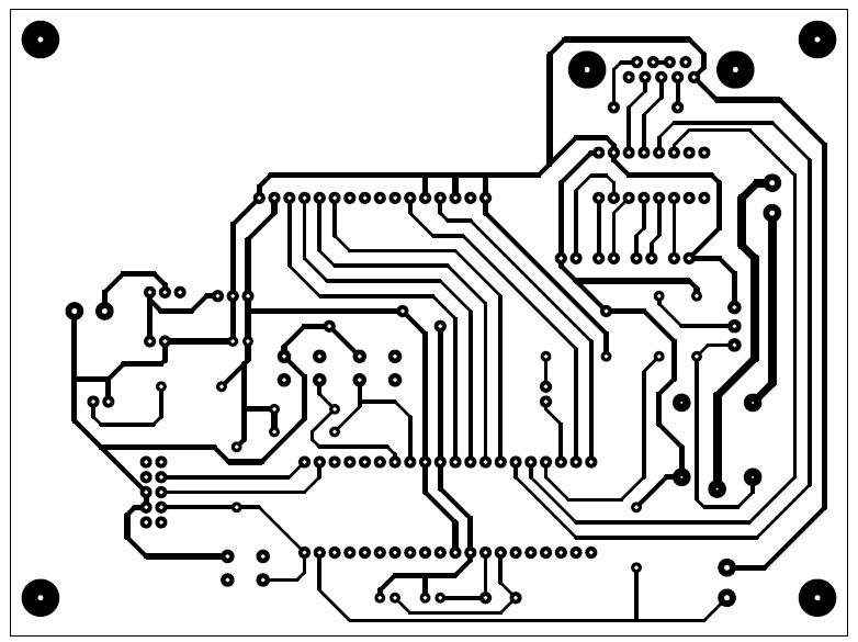 Distribution Board Controller via GSM (DB-Con): PCB