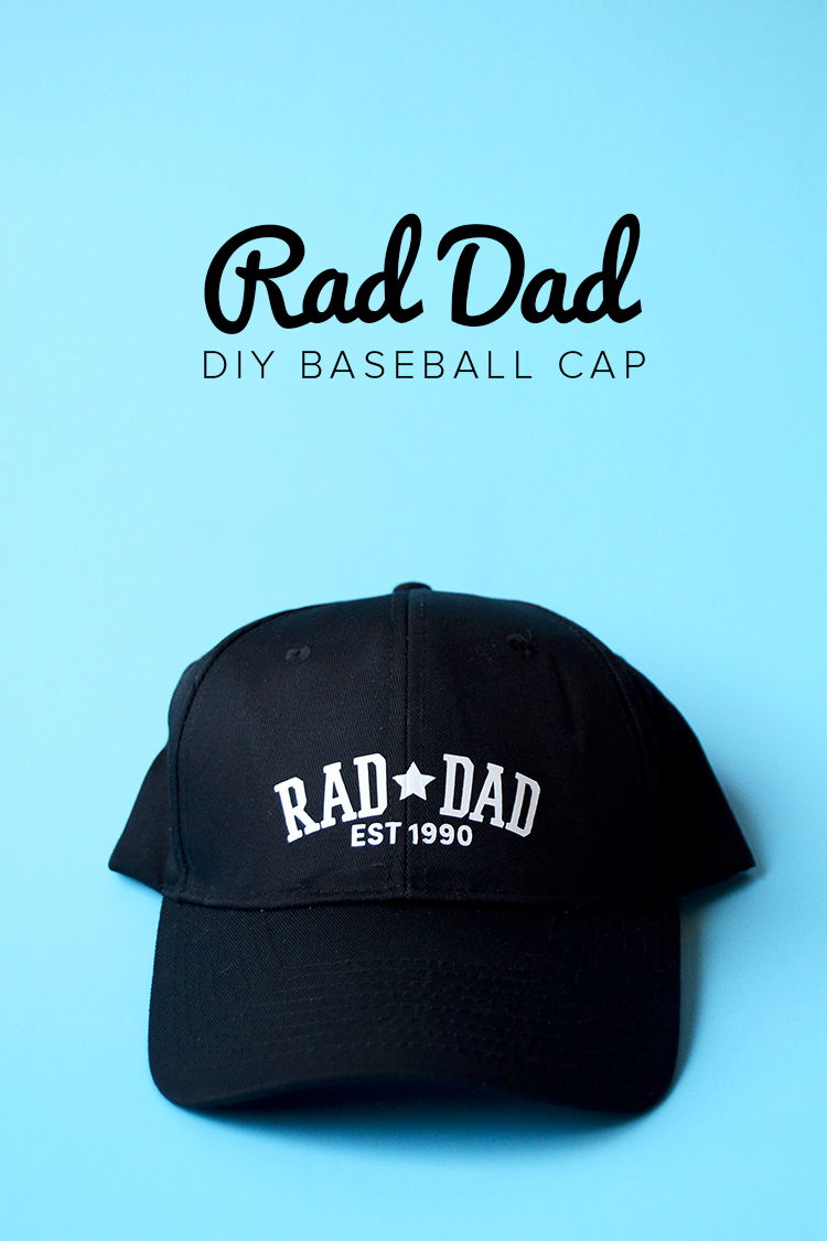 rad dad baseball cap at crafts unleashed