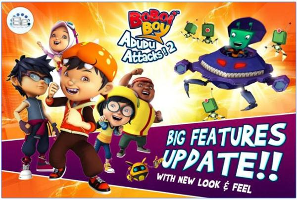 BoBoiBoy: Adudu Attacks! 2