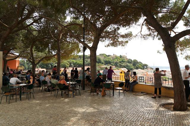 Miradorou de Graça-Lisbonne-Portugal