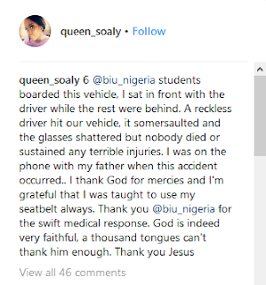 BIU Students Escape Death