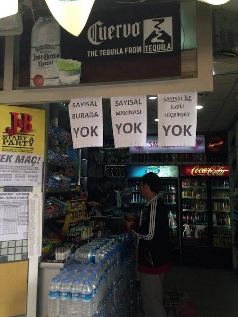 Sayısal burada YOK!