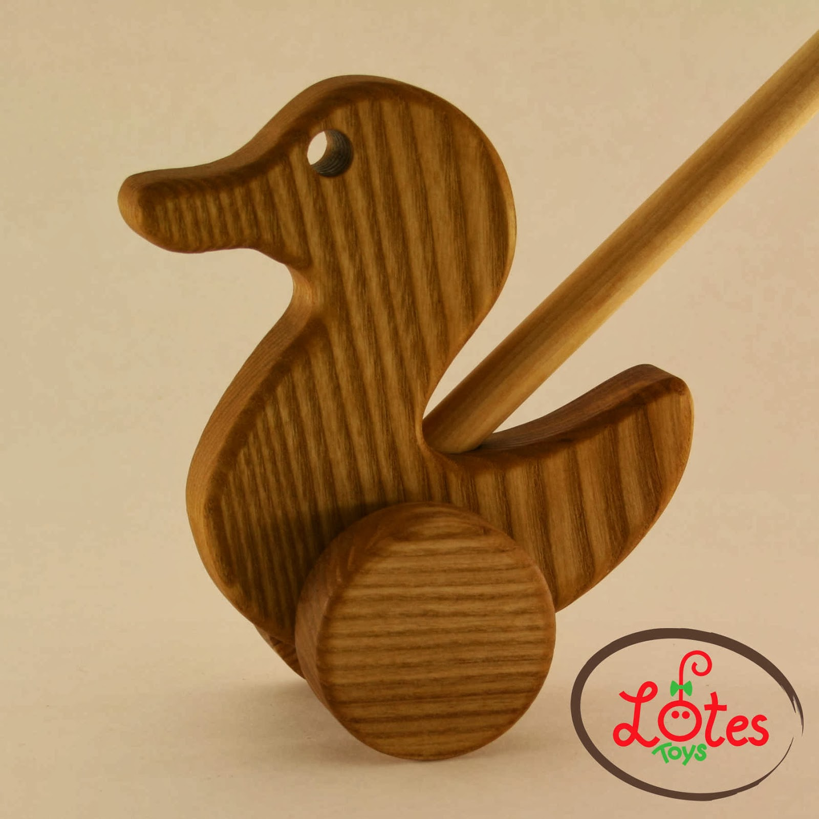 Lotes Wooden Toys Push Toys