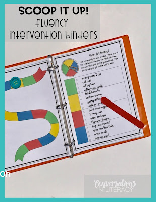 Fluency Activities and Fluency Intervention Binders