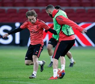 Todo esta listo para enfrentar al Ajax