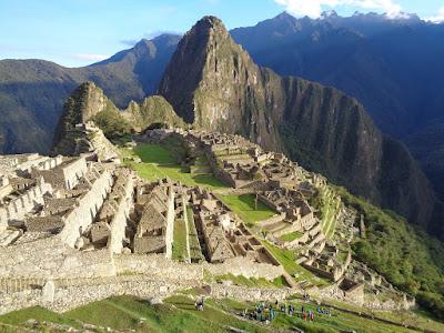 Machu Picchu, en Cuzco, Perú