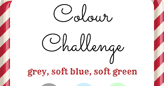 October Colour Challenge and DT CALL