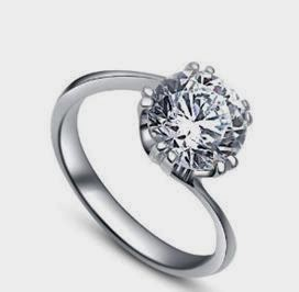 bague de fiancaille en argent pour femme pas cher silver rings. Black Bedroom Furniture Sets. Home Design Ideas