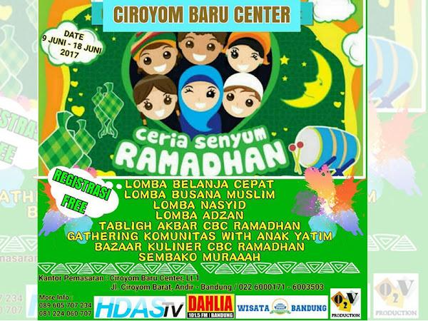 Event Ceria Senyum Ramadhan di Ciroyom Baru Center
