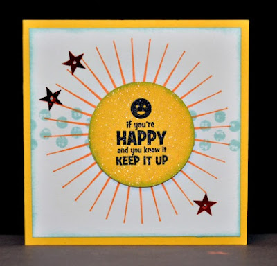 Perfect Tee, Smiley Face, encouragement card, Tuesday Tutorial, Stampin' Up!, Stamp with Trude, Sale-A-Bration