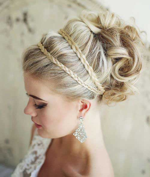 48 latest best prom hairstyles 2017 hairstylo a genius braided updo hairstyle urmus Image collections