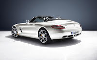 Mercedes-Benz SLS AMG Roadster back