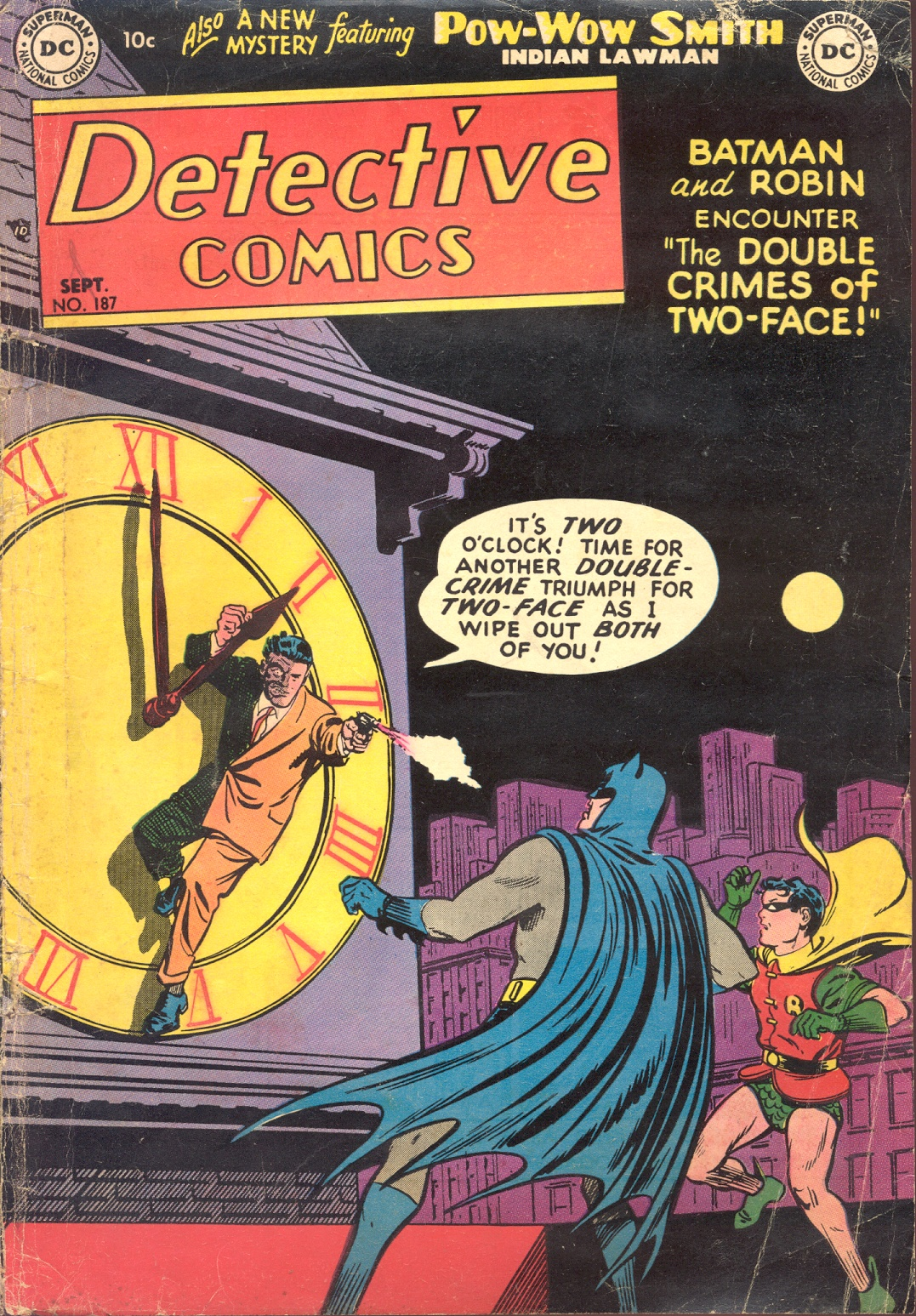 Read online Detective Comics (1937) comic -  Issue #187 - 1