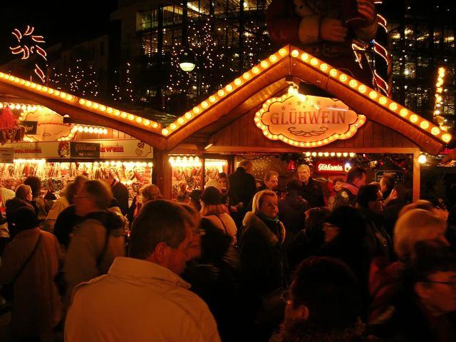 jarmark bożonarodzeniowy, Berlin, weihnachtsmarkt