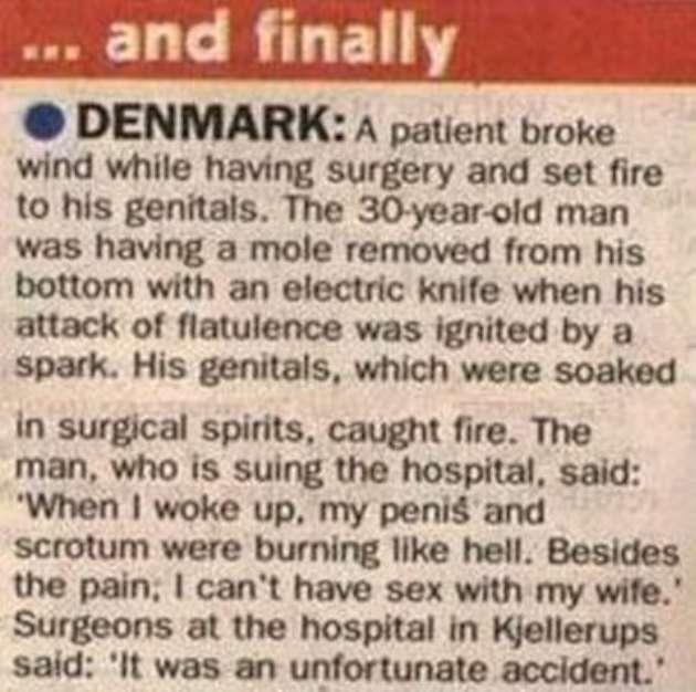Funny joke news denmark picture image
