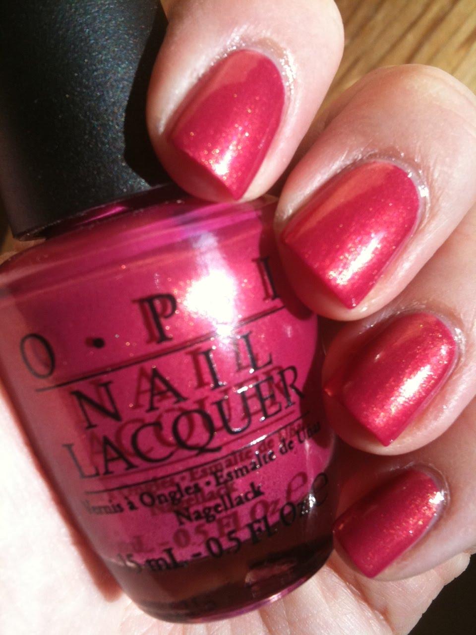 Nat S Makeup Stash Opi Se 241 Orita Rose Alita