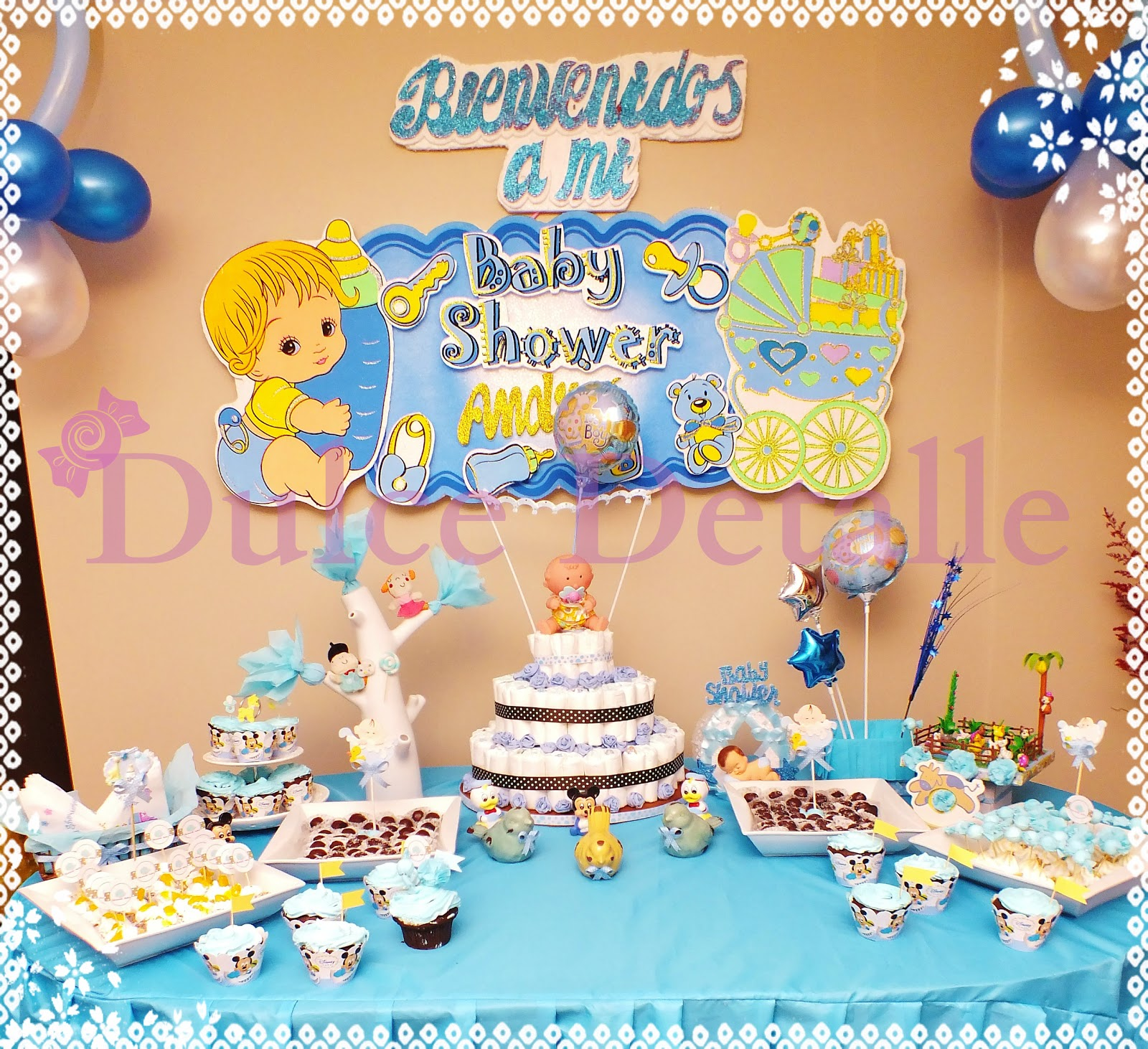 Dulce Detalle Eventos Decoracion De Baby Shower