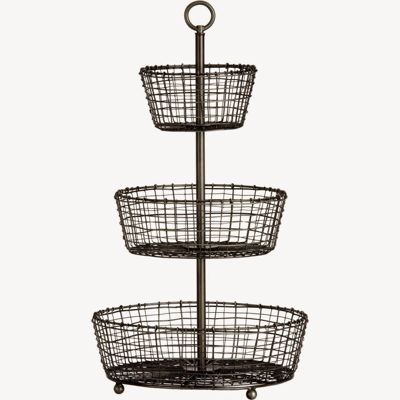 Kitchen Accessories 3 Tier Wire Fruit Basket: DeeAuvil: Organizing With Wire Baskets