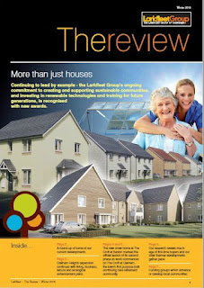 Front cover of Larkfleet Review