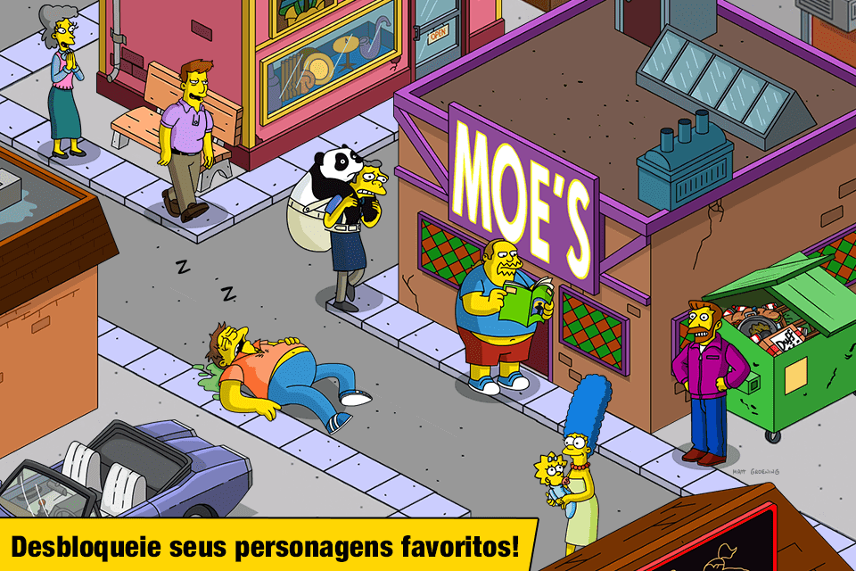 The Simpsons Tapped Out MOD DINHEIRO INFINITO 4.47.5