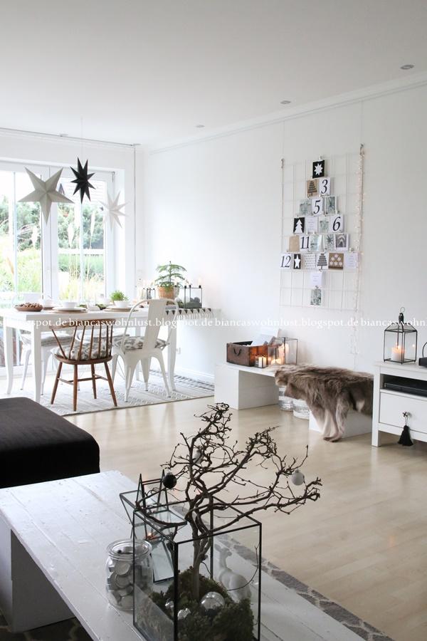 wohnlust weihnachtliches wohnzimmer. Black Bedroom Furniture Sets. Home Design Ideas
