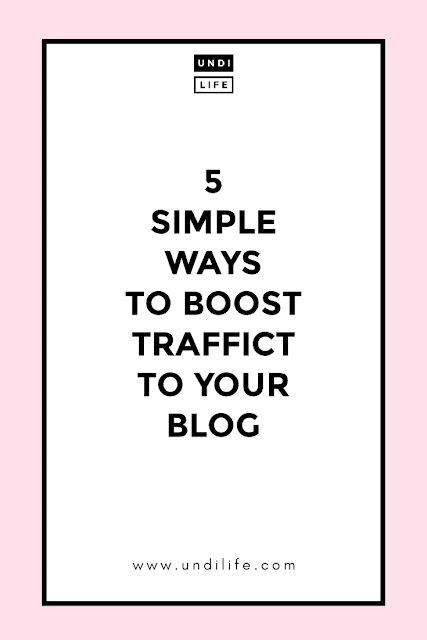 5 Cara Sederhana untuk Meningkatkan Traffic Blog, Blogger Harus Coba