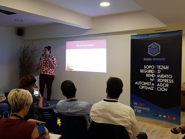 Foto charla Pepa Cartini encuentro redactores digitales via Raiola Networks