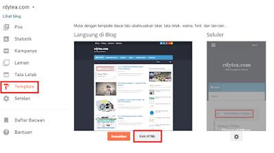 Cara Membuat Halaman Kontak Kami di Blogger