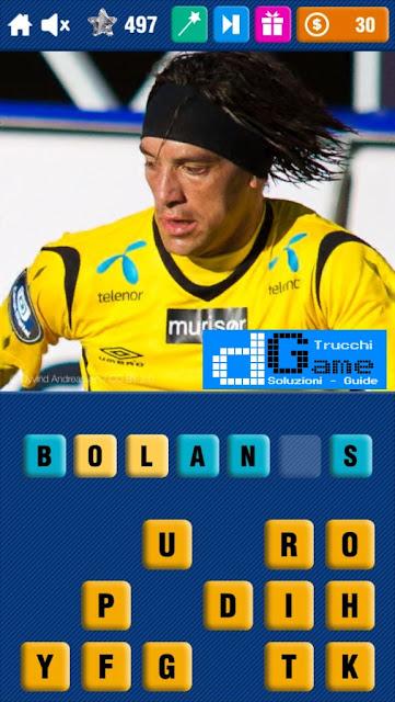Calcio Quiz 2017 soluzione livello 491-500 | Parola e foto