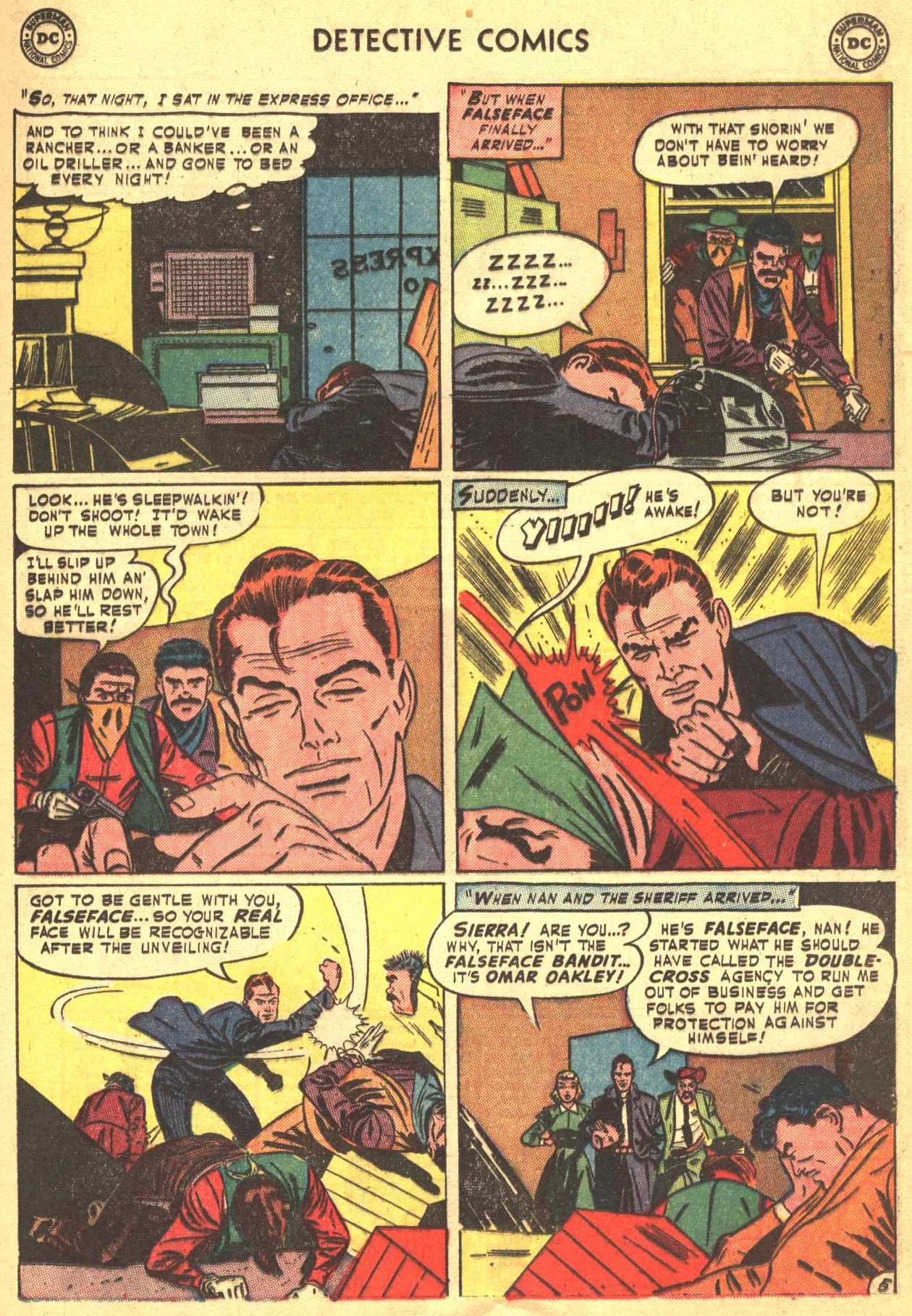 Read online Detective Comics (1937) comic -  Issue #206 - 18