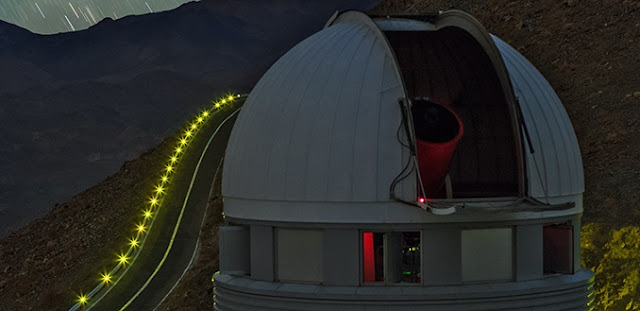 The EULER telescope, installed at the Silla Observatory in Chile. © ESO/B. Tafreshi (twanight.org)