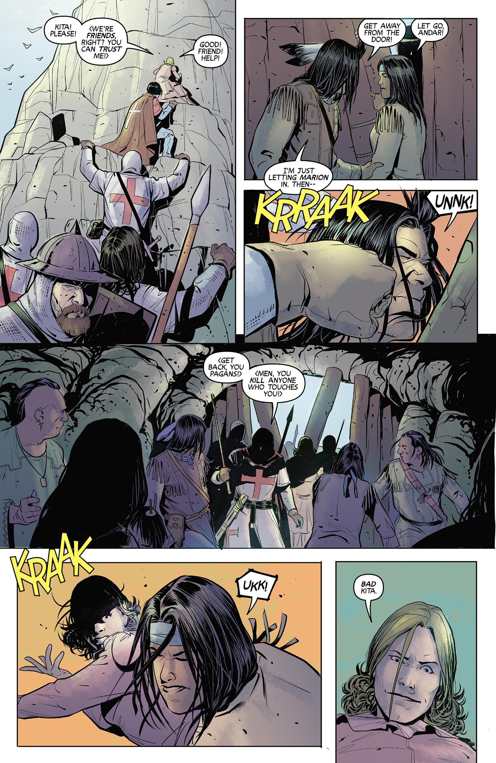 Read online Turok: Dinosaur Hunter (2014) comic -  Issue #4 - 10