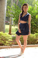 Seerat Kapoor Stunning Cute Beauty in Mini Skirt  Polka Dop Choli Top ~  Exclusive Galleries 012.jpg