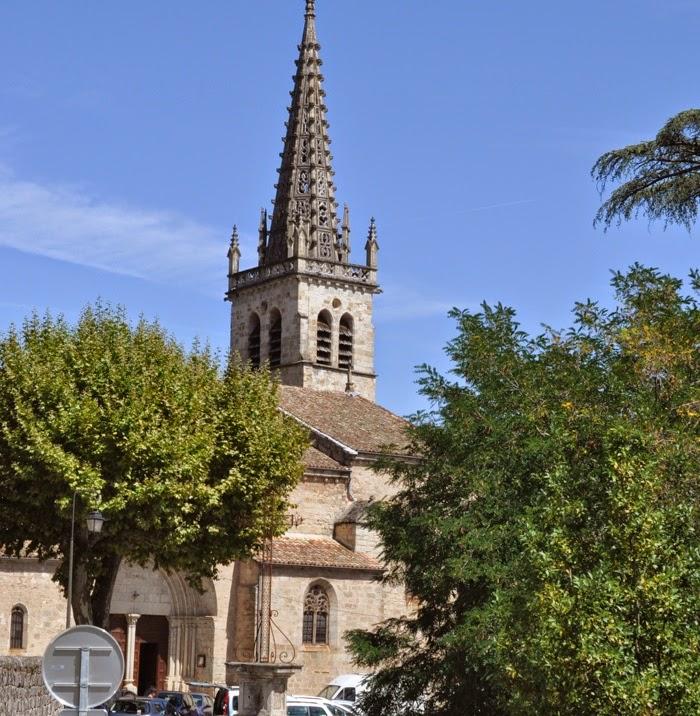 église de Largentière
