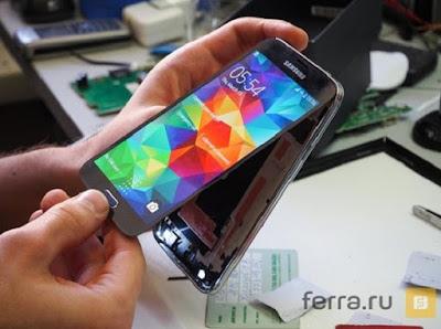 Dịch vụ thay mặt kính Samsung Galaxy S5 chính hãng tại Hà Nội