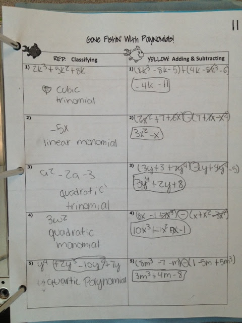 Algebra 1 Unit 8 Test Quadratic Equations Answers Gina ...