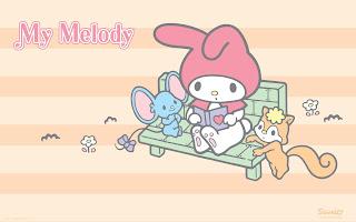 Papeles de My Melody.